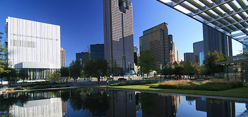Look at Museum Tower's Downtown Dallas neighborhood