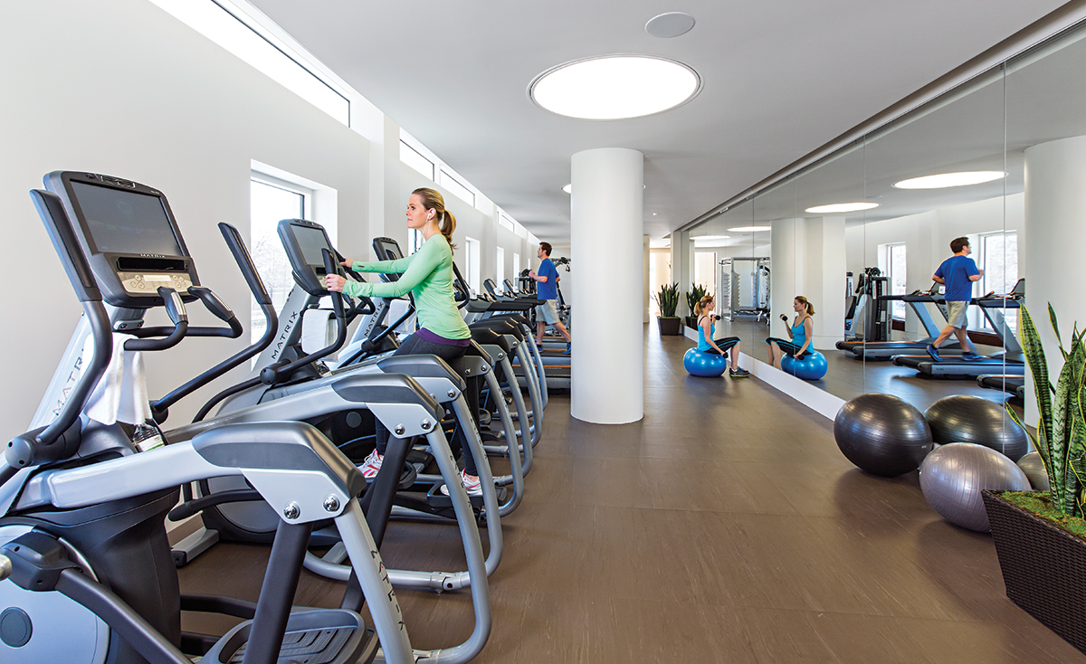 Museum Tower Condos Fitness Center